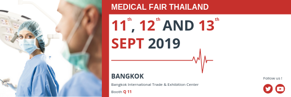 surgical light and medical pendant Medical Fair Thailande